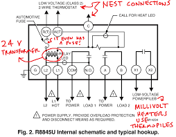 controlling an ancient millivolt heater with a nest nest rc or rh at Nest Gen 3 Wiring Diagram