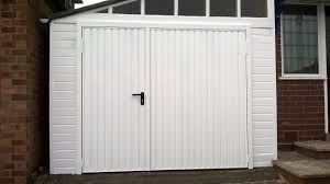 not only it is very convenient to not have to open your garage door fully with a pedestrian door option but it also means you can retain heat easier and