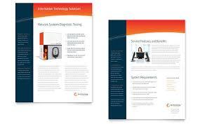 Sample Brochure For Microsoft Word Free Sample Sales Sheet