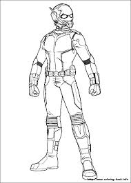 Small Picture Ant Man coloring pages on Coloring Bookinfo