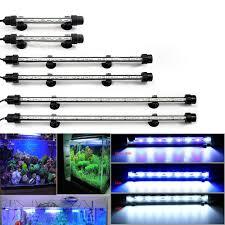 15 Aquarium Light Us 8 99 40 Off Waterproof Aquarium Led Light Fish Tank 9 12 15 21 Blue White 18 28 38 48cm Bar Strip Light Lamp Eu Us Plug Aquarium Lighting In