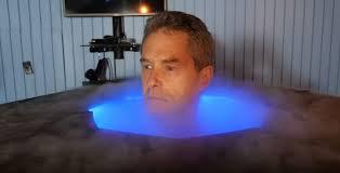 liquid nitrogen therapy chamber