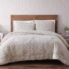 white king quilt set. Wonderful White Sand Washed Cotton King Quilt Set In White On