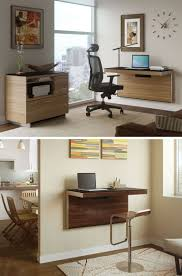 furniture office design. Best Wall Mount Walnut Wood Office Desk For Small Design Idea Furniture