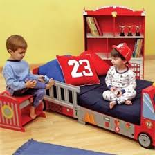 Firetruck Toddler Furniture Set