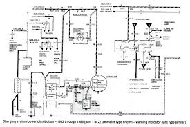 alternator wiring diagram for ford f wiring diagram ford ranger wiring by color 1983 1991