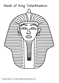 King Tut Coloring Page Coloring Coloring Mummies Worksheets ...