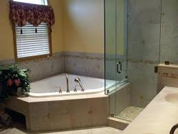romantic corner bathtub shower of bathtubs whirlpool tub and tubs bathroom bath combos