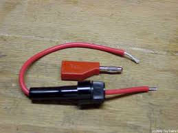 dcs tips and hints step 4 insert one end of the stripped wire into the banana plug in preparation for ering