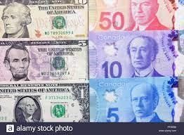 Canadian Dollar notes Stock Photo ...