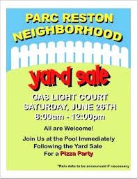 Neighborhood Garage Neighborhood Garage Sale Flyer Templates