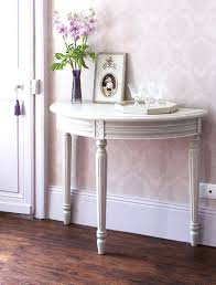 half round table grey half moon console table table of elements quiz