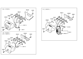 1997 hyundai tiburon exhaust manifold (beta engine) 2000 Hyundai Tiburon Engine Diagram 1997 Hyundai Tiburon Engine Diagram #36