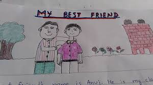 Write A Paragraph On My Best Friend In Very Easy And Simple Words