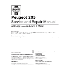 205 manual 291p