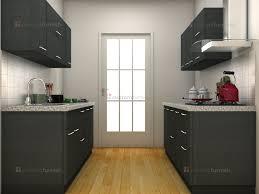 Indian Semi Open Kitchen Designs Grey Modular Kitchen Design Kitchen Cabinets India