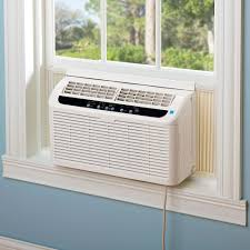 Small Air Conditioning Unit For Bedroom The Worlds Quietest Window Air Conditioner Hammacher Schlemmer