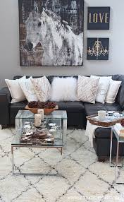 Rug For Living Room Rustic Glam Living Room New Rug Setting For Four