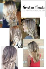 Lived In Blonde Hair Color For