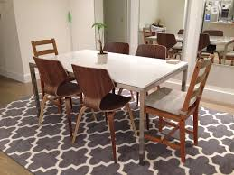 quartz top dining table. Portica Table With White Quartz Top Dining