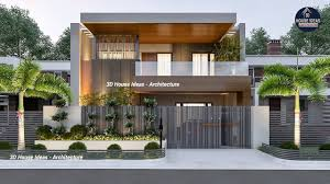 Best Double Story House Designs Top 20 Home Front Elevation Double Story Modern Home 3d Elevation
