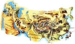 Марко Поло биография открытия путешествия личная жизнь  Карта путешествий Марко Поло