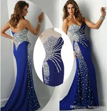 ball dresses online. discount 2015 mermaid prom dresses crystal eveinng gowns 2014 sweetheart neck zip back chiffon formal arabic pageant ball online