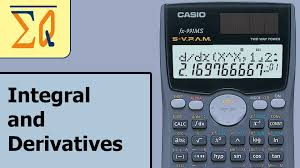casio fx 991ms evaluating integral and derivatives definite integral you