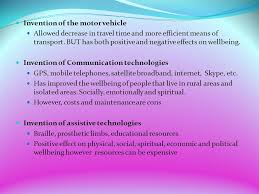 cafs reasons for the development of technology b betterment 5 invention