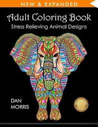 coloring book stress relieving designs by dan morris paperback new
