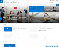 Sharepoint Team Site Template What Is A Communication Site In Sharepoint And Why You Might
