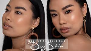 makeup routine for dry skin jvongphoumy