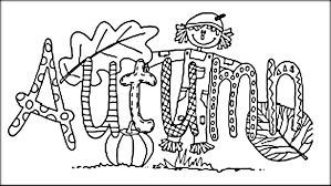Small Picture Animated Autumn Coloring Printable Pages Color Zini