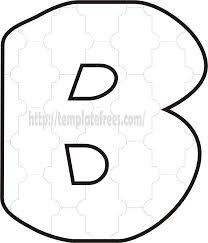 large printable bubble letters