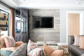 barn board tv wall