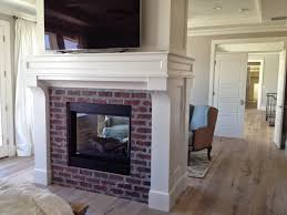 and the fireplace in the center of the living space great room created the perfect focal point for the area