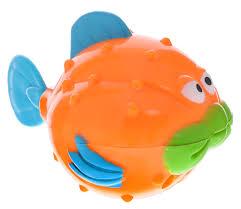Alex Toys <b>Игрушка для ванной Рыба-ёж</b> — купить в интернет ...