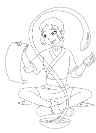 Small Picture Coloring Page Avatar coloring pages 20