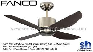 icon lighting. Beautiful Lighting Fancoicon40ledceilingfansembawanglighting In Icon Lighting