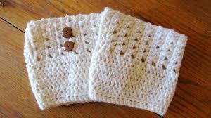 Free Crochet Boot Cuff Patterns Stunning Cross Stitch Boot Cuff Pattern ELK Studio Handcrafted Crochet