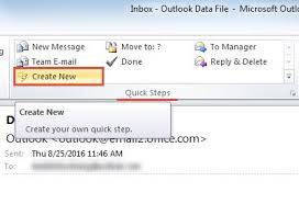 Create Outlook Message Template How To Create A Shortcut To An Email Template In Outlook Data