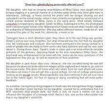 entry by sundusghulamn for cyberbullying essay lancer contest entry 1 for cyberbullying essay