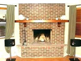 reface brick fireplace refacing with tile resurfacing stacked stone