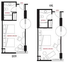 Hotel Room Floor Plans   ... in Las Vegas, NV - Best Las