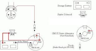 gm alt wiring wiring diagram \u2022 alternator wiring schematic 1967 mustang 289 gm si alternator wiring wiring diagram rh blaknwyt co gm alternator wiring diagram external regulator old