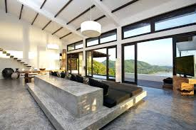 concrete flooring in house polished concrete flooring residential