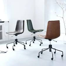leather office chair amazon. Leather Office Chair Slope Swivel Amazon Cream