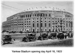 babe ruth yankee stadium