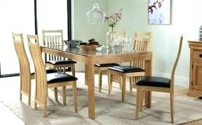dining table 8 chairs gl dining table 8 chairs dining table oak and gl dining