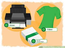 image titled print designs on plain tshirts step 16